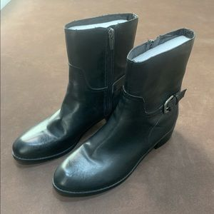 Mark Fisher Black Boots-Size 7.5